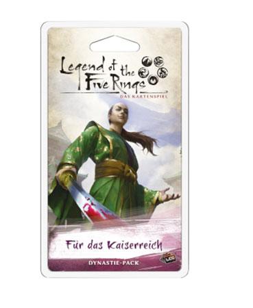 Legend of the 5 Rings - Das Kartenspiel - Für das Kaiserreich Dynastie-Pack (Erbfolge 1)