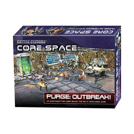 Battle Systems - Core Space - Säuberung: Der Ausbruch Erweiterungspack (engl.)