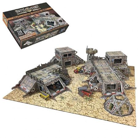 Battle Systems - Sci-fi Terrain - Wüstenstadt