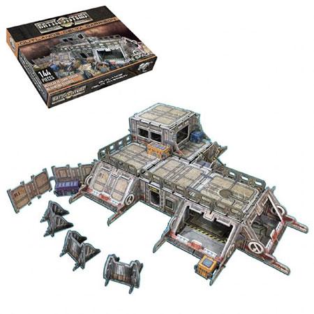 Battle Systems - Sci-fi Terrain - Delta Garnison