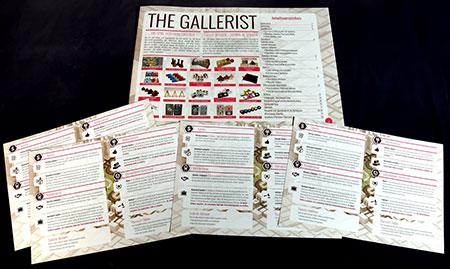 The Gallerist Deluxe - Deutsches Übersetzungspaket