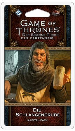 Der Eiserne Thron - Das Kartenspiel 2. Edition - Die Schlangengrube (Königsmund 3)