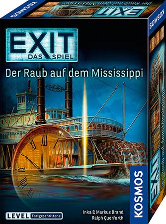 EXIT - Das Spiel - Der Raub auf dem Mississippi