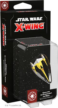 Star Wars: X-Wing 2.Edition - Königlicher N1-Sternenjäger von Naboo Erweiterungspack