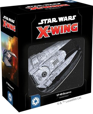 Star Wars: X-Wing 2.Edition - VT-49-Decimator Erweiterungspack