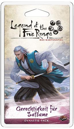 Legend of the 5 Rings - Das Kartenspiel - Gerechtigkeit für Satsume Dynastie-Pack (Erbfolge 3)