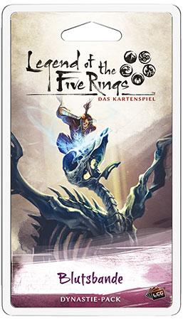 Legend of the 5 Rings - Das Kartenspiel - Blutsbande Dynastie-Pack (Erbfolge 2)