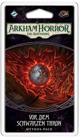 Arkham Horror - Das Kartenspiel - Vor dem Schwarzen Thron Mythos-Pack (Der gebrochene Kreis 6)
