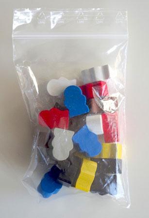 Orléans - Zusatzfiguren für Upgrade-Kit (21 Figuren)
