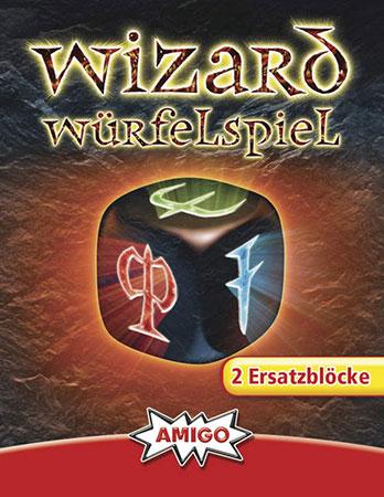 Wizard - Würfelspiel Ersatzblöcke (2 Stk.)