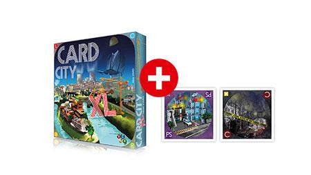 Card City XL Bundle - Grundspiel inkl. Erw. und dt. Anleitung