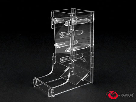 e-Raptor Würfelturm - Cuboid Basic (Plexiglas transparent)