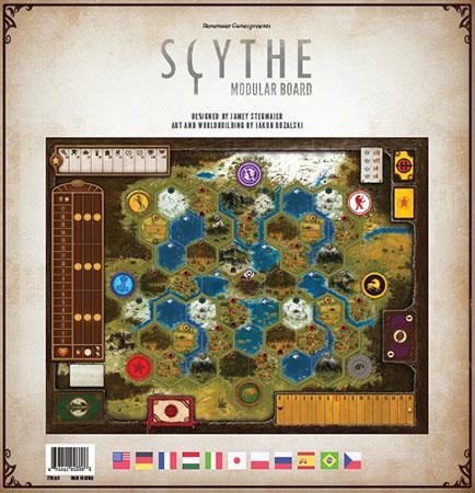 Scythe - Modulares Spielbrett Erweiterungspack