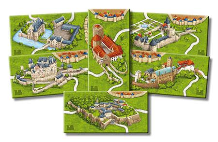 Carcassonne - Burgen in Deutschland Erweiterung (neue Edition)