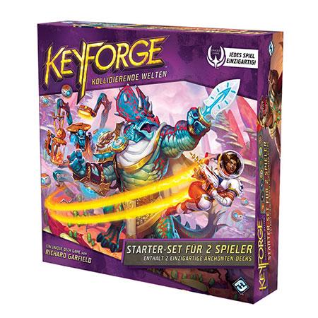 Keyforge: Kollidierende Welten - Starter-Set für 2 Spieler