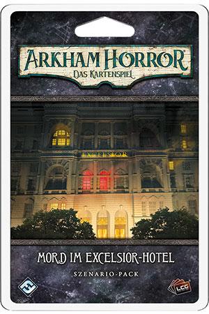 Arkham Horror - Das Kartenspiel - Mord im Excelsior-Hotel Scenario-Pack