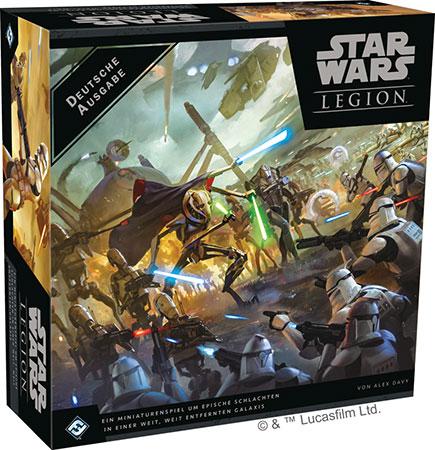 Star Wars: Legion - Clone Wars - Grundspiel