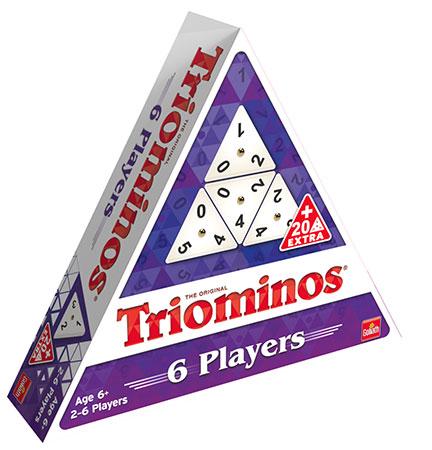 Triominos für 6 Spieler
