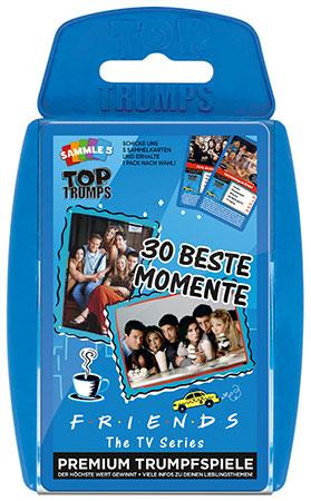 TOP TRUMPS - Friends - 30 beste Momente