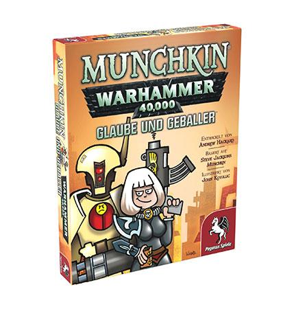 Munchkin Warhammer 40.000 - Glaube und Geballer Erweiterung