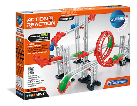 Action & Reaction - Starter Set mit 50 modularen Komponenten