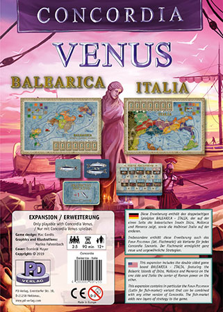Concordia Venus - Balearica-Italia Erweiterung