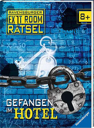 Exit Room Buch - Gefangen im Hotel