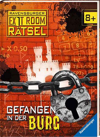 Exit Room Buch - Gefangen in der Burg