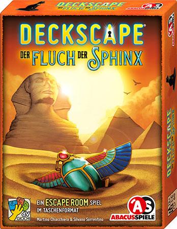 Deckscape - Der Fluch der Sphinx
