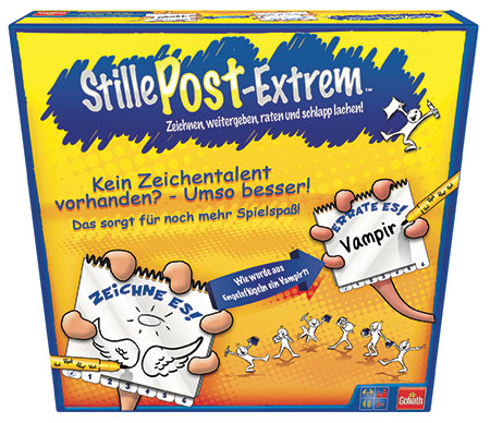 Stille Post Extrem (6 Spieler)