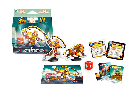 King of Tokyo - Monster Pack: Cybertooth Erweiterung