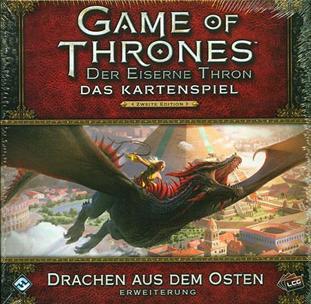 Der Eiserne Thron - Das Kartenspiel 2. Edition - Drachen aus dem Osten Erweiterung