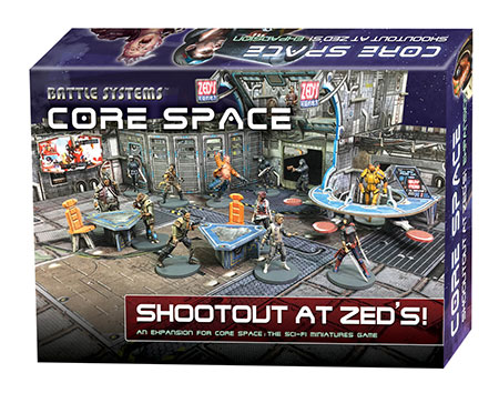 Battle Systems - Core Space - Shootout at Zed´s Erweiterung