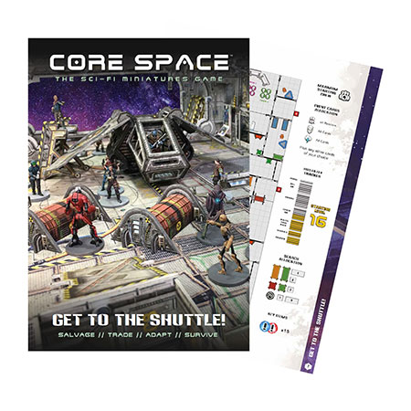 Battle Systems - Core Space - Get to the Shuttle Erweiterung (engl.)