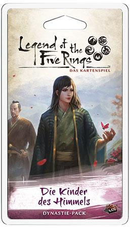 Legend of the 5 Rings - Die Kinder des Himmels - Blutsbande Dynastie-Pack (Erbfolge 4)
