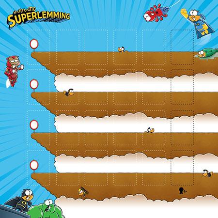 Superlemming - Deluxe Spielmatte
