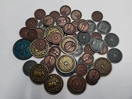 Trickerion - Riesen-Münzset (62 Münzen!)