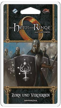 Der Herr der Ringe - Das Kartenspiel: Zorn und Verderben Abenteuer-Pack (Die Rache Mordors 1)