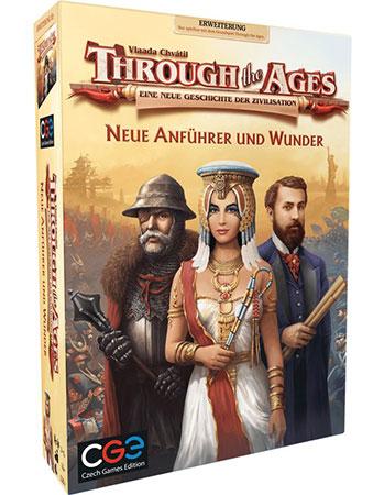 Through the Ages - Eine neue Geschichte der Zivilisation - Neue Anführer und Wunder Erweiterung