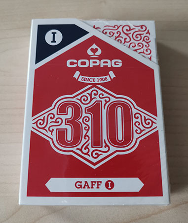 Copag 310 - Gaff Deck