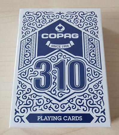 Copag 310 Einzeldeck blau