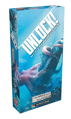 Unlock! - Wrack der Nautilus Einzelszenario (Box2B)