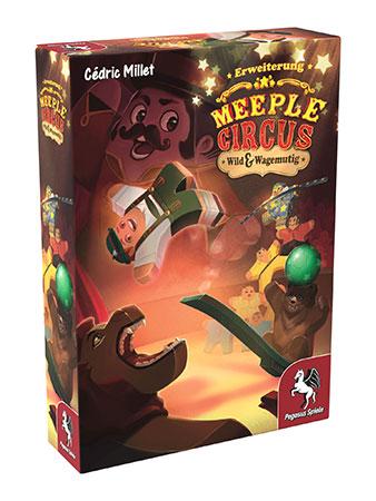 Meeple Circus - Wild & Wagemutig Erweiterung