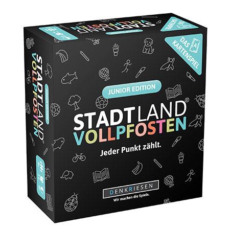 Stadt Land Vollpfosten - Das Kartenspiel – Junior Edition