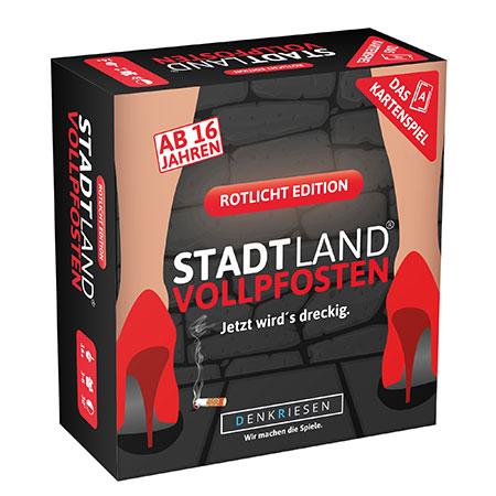 Stadt Land - Das Kartenspiel – Rotlicht Edition