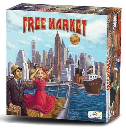 Free Market: NYC (multil. inkl. dt.)