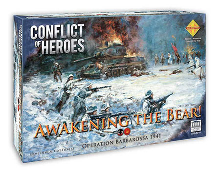 Conflict of Heroes - Awakening the Bear 3rd Edition (engl.)