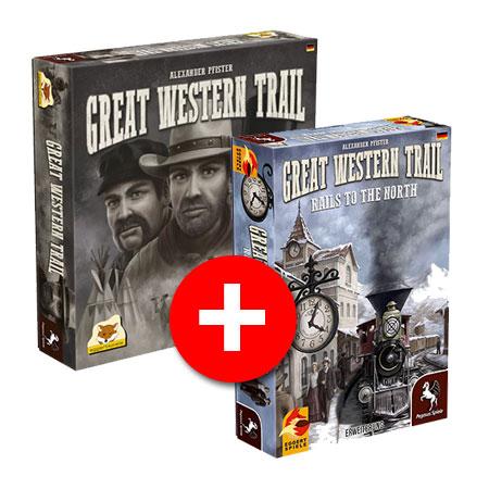 Great Western Trail Bundle (Grundspiel + 1.Erw.)