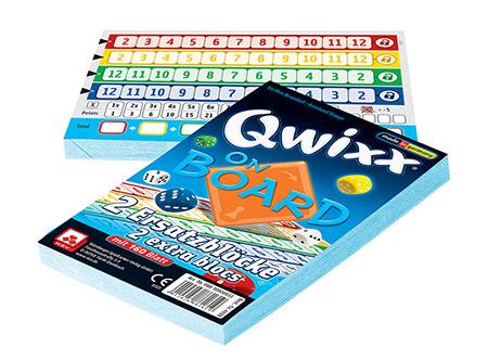 Qwixx - On Board - 2 Ersatzblöcke