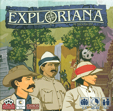 Exploriana (inkl. dt. Anleitung)
